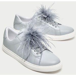 Zara sneakers, size 8